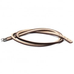 Bracelet Brown/ Light Grey Leather