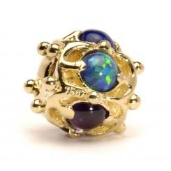 18k Gold Beads