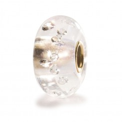 Diamond Bead with Gold Core