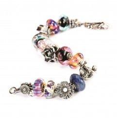 Autumn Flowers Bracelet