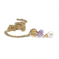 Fantasy Pearl Necklace, 14ct Gold 90cm