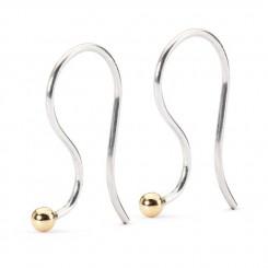 Earring Hooks, Silver/ Gold