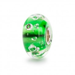 The Diamond Bead, Emerald Green