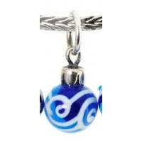 Blue Christmas Ornament 2 - Retired