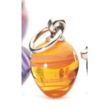 Easter Ornament - Orange Stripe - Retired