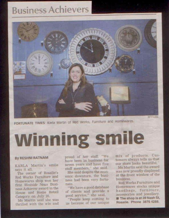 Quest News article re win