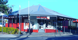 red works brisbane store