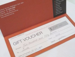 Red Works Gift Voucher